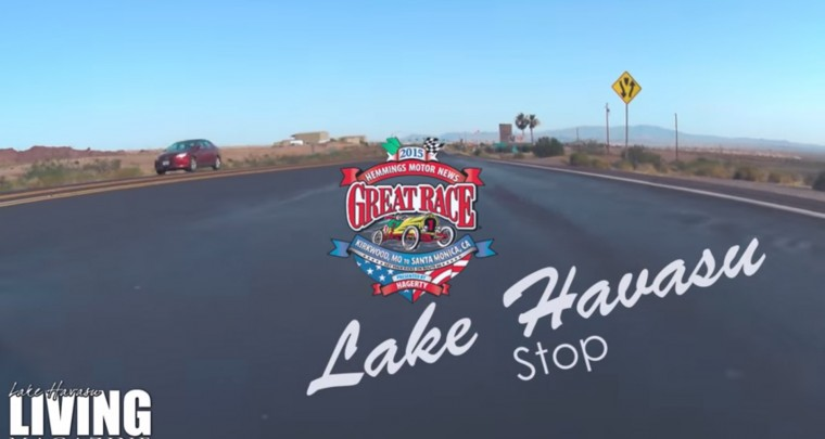 The Great Race comes to Lake Havasu 2015