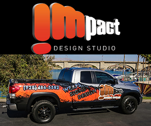 vehicle wraps lake havasu city - impact design studio